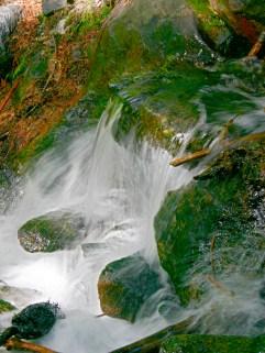 Waterfall small creek
