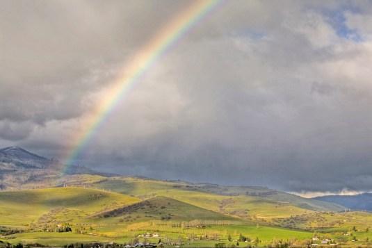 Rainbow Over Ashland Hills