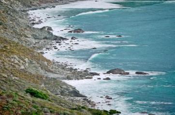 big sur coaststretched rocks topaz vignette only