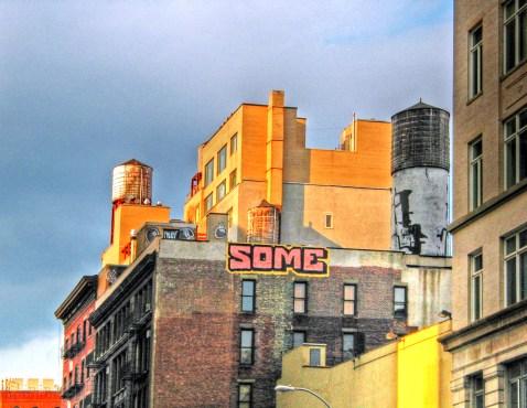 Skyline Graffiti Manhattan
