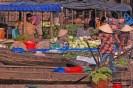 Food Traders on Mekong river