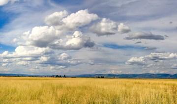 Goose Lake Prarie Clouds