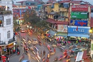 Hanoi Traffic Circle