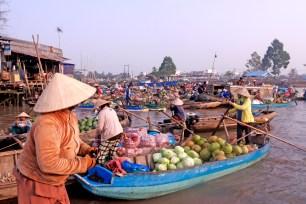 Mekong River Food Warehouse & Boats