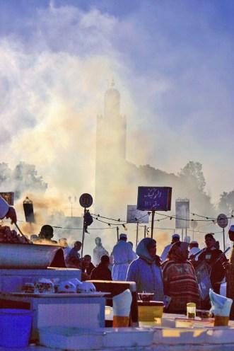 Mosque and Smoke