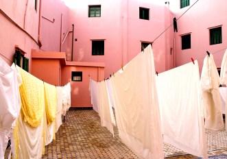 Pink Wall and Sheets