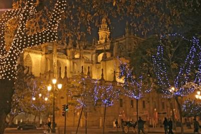 Seville Cathedral Nightlife
