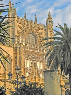 Seville Cathedral,Sunset