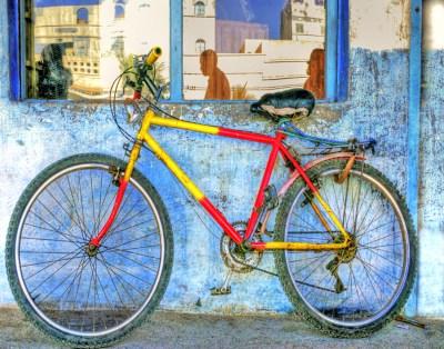 Sidi Ifni bicycle hdr copy