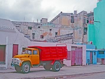 Colorful Truck, Cienfuegoes, Cuba