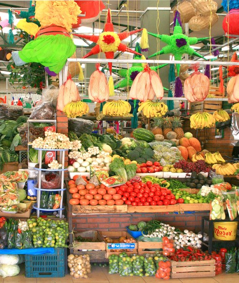san miguel fruit and veg stand