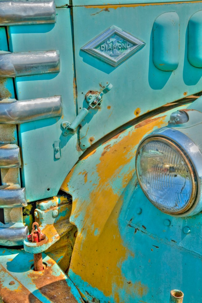 truck diamond driver headlight hdr