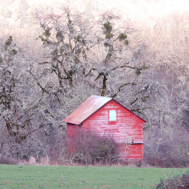 Barn Willamette Valley Oregon
