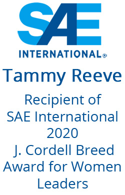 Tammy Reeve - SAE Award