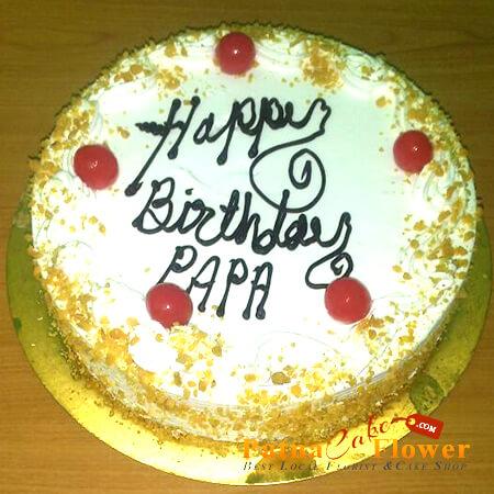 eggless buttersotch cake