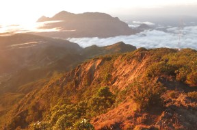 Timor's mountainous terrain has been warmed by the sun for 30 million years.