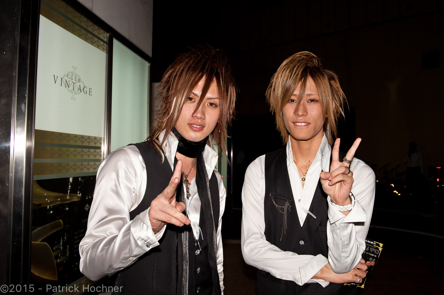 Hosts in Kabukichō, Tokyo, Japan