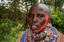 Femme Massaï, Amboseli, Kenya