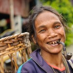 Lawa woman, La Up village, Thailand