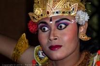 Danseur de Kebyar, Ubud, Bali