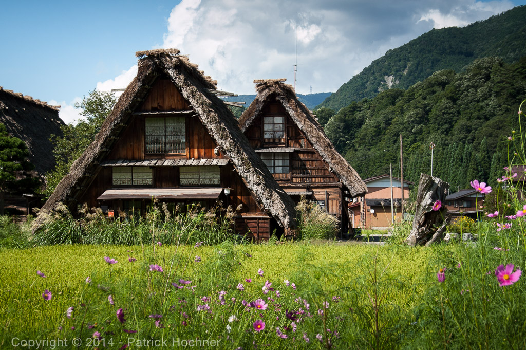 Gassho-zukuri style house, Shirakawago, Japan