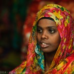 Young woman in Harar, Ethiopia