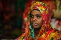 Young woman in Harar, Ethiopia