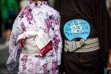 People wear kimono and yukata