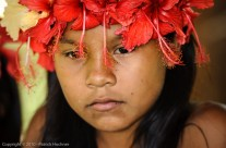 Young Embera indian, Panama