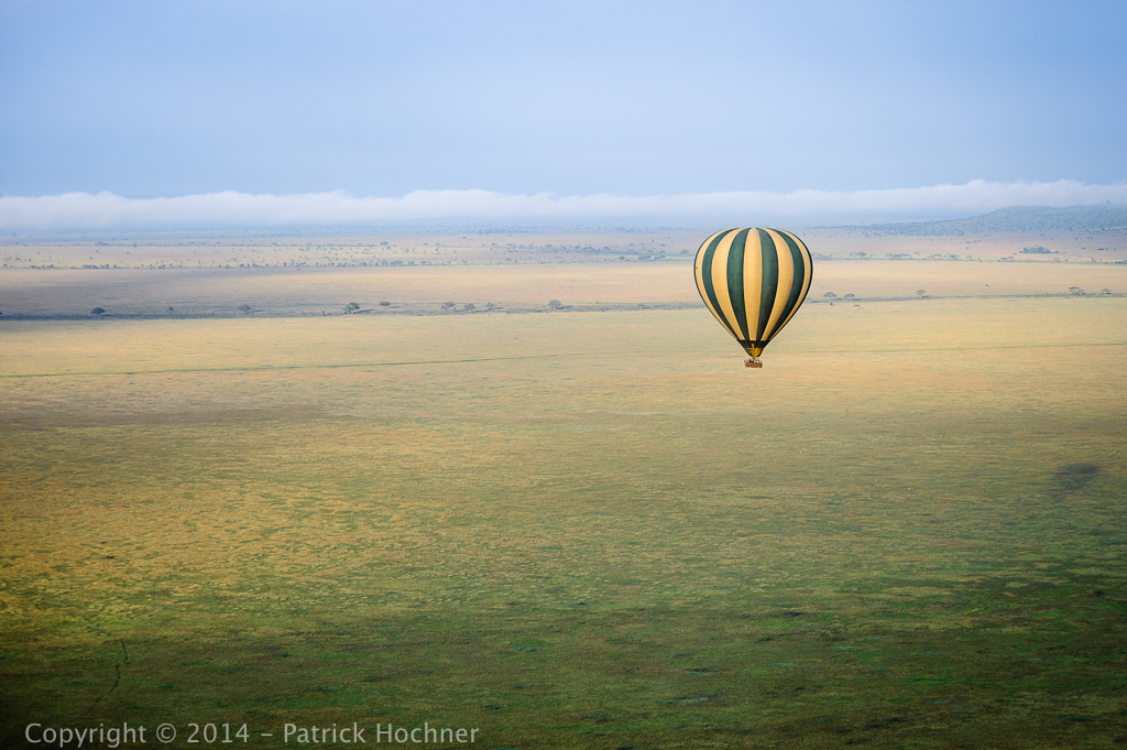 Hot Air Balloon, Serengeti, Tanzania