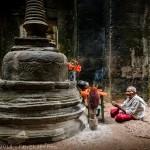 Encounter in Preah Khan, Angkor, Cambodia