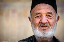 Old wrestler, Bukhara, Uzbekistan