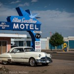 Sur la Route 66, Tucumcari, USA