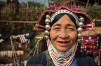 Minorité Akkha, Kentung, Birmanie (Myanmar)