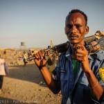 Policier Afar, Armadilla, Ethiopie