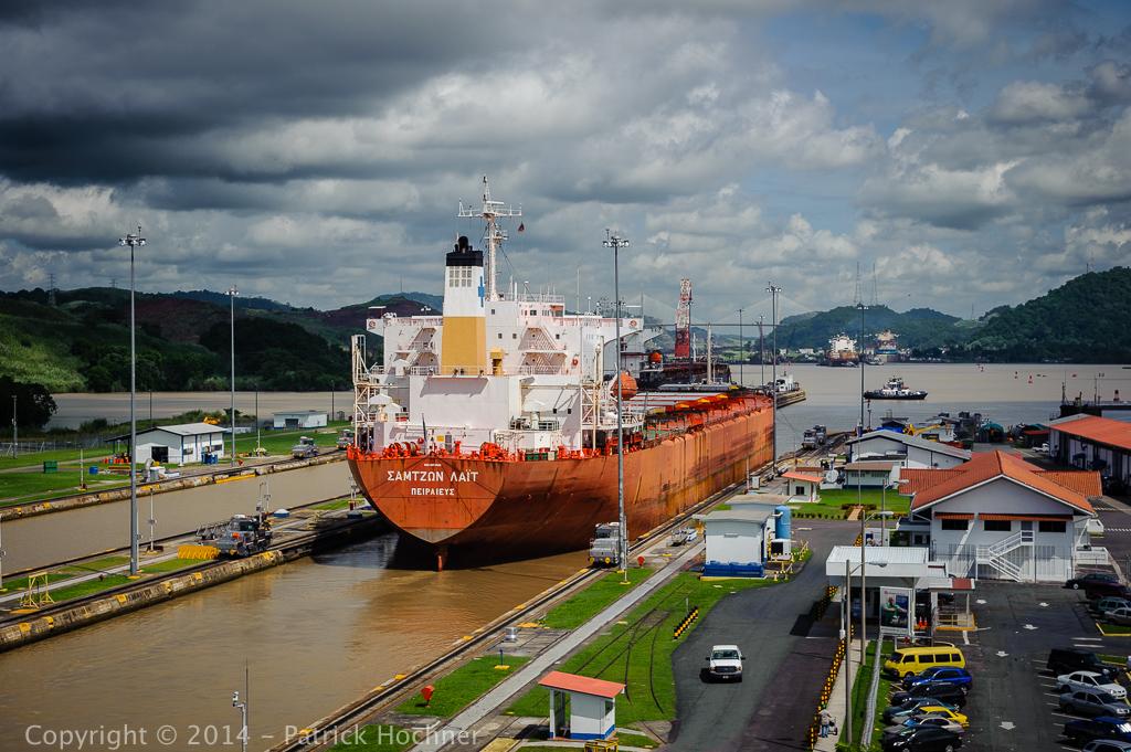 Écluse de Miraflores, Canal de Panama