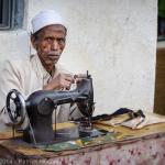 Street tailor in Harar, Ethiopia