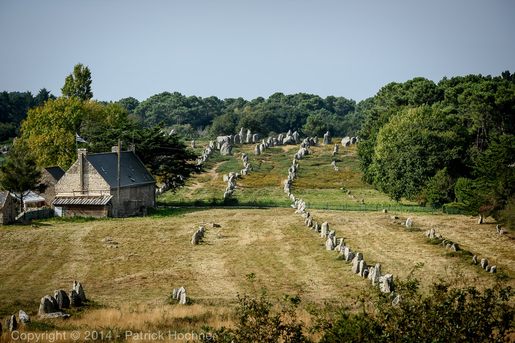 Carnac stones, Brittany, France