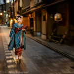 Maiko à Miyagawa-Cho, Kyoto