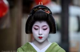 Geiko à Miyagawa-Cho, Kyoto