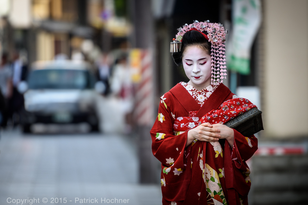 Maiko in Miyagawa-Cho, Again