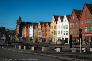 Bryggen, the old city of Bregen
