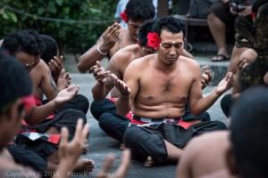 Kecak dance at the Uluwatu Temple, Bali