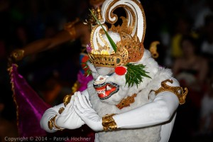The monkey king Hanoman, Dance performance, Bali