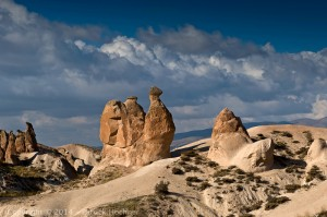 The fairy chimney, Cappadocia