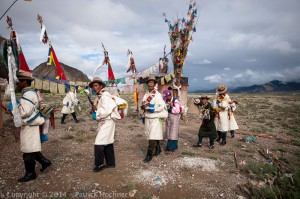 On the way from Shigatse to Lhasa, Tibet