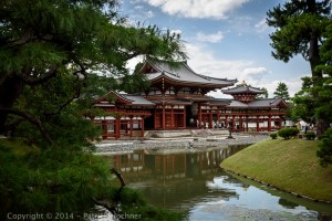 The Phoenix Hall, Byodoin Temple, Uji city, Kyoto