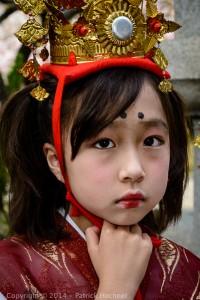 The Öka Matsuri or Cherry festival at the Hirano Shrine, Kyoto