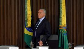Brasília - Presidente Michel Temer durante reunião ministerial, no Palácio do Planalto (Fabio Rodrigues Pozzebom/Agência Brasil)