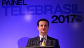 Brasília - O ministro da Ciência, Tecnologia, Inovações e Comunicações, Gilberto Kassab, participa da cerimônia de abertura do Painel Telebrasil 2017 (Fabio Rodrigues Pozzebom/Agência Brasil)